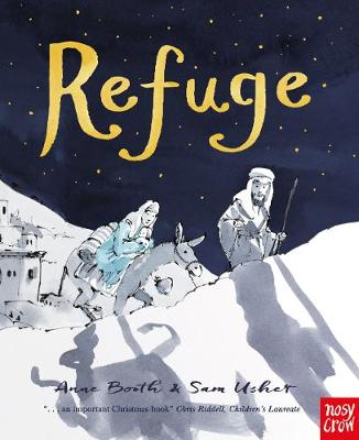 Book Cover for Refuge by Anne Booth