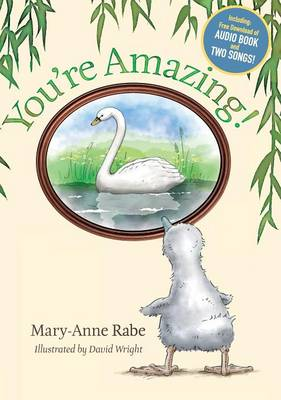 You're Amazing - Hardcover + Audio Book Download by Mary-Anne Rabe