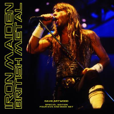 Iron Maiden: British Metal by Dave Artwood