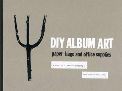 DIY Album Art Paper Bags and Office Supplies by J. Namdev Hardisty