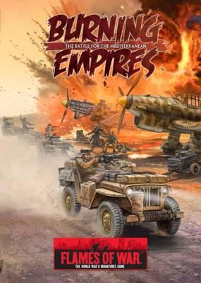 Burning Empires Battle for the Mediterranean by Peter Simunovich, John-Paul Brisigotti, Mike Haught