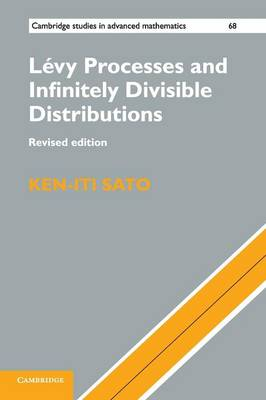 Levy Processes and Infinitely Divisible Distributions by Ken-iti Sato