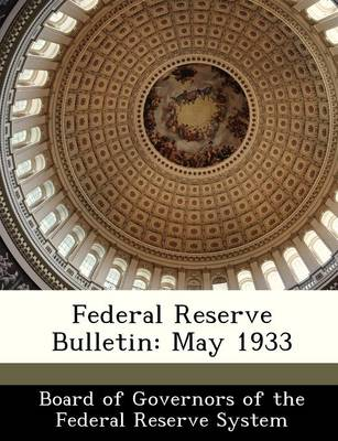 Federal Reserve Bulletin May 1933 by
