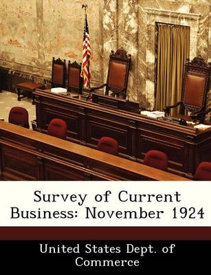 Survey of Current Business November 1924 by
