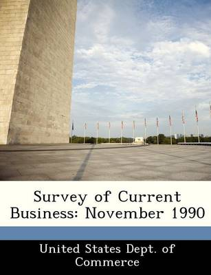 Survey of Current Business November 1990 by