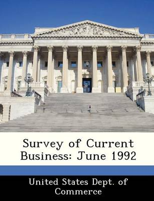 Survey of Current Business June 1992 by