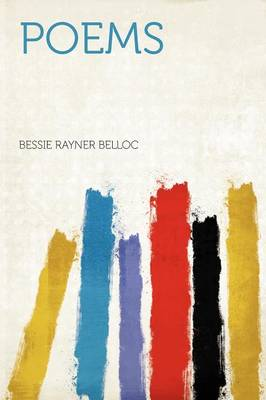 Poems by Bessie Rayner Belloc