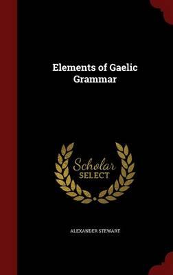 Elements of Gaelic Grammar by Alexander Stewart