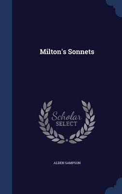 Milton's Sonnets by Alden Sampson