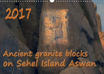 Ancient Granite Blocks on Sehel Island Aswan 2017 Ancient Egyptian Inscriptions on Granite Boulders by Agnes Fodor