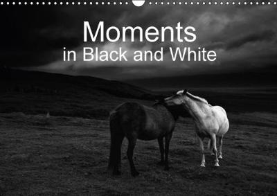 Moments in Black and White 2018 Fine Art Photography in Black and White - Impressions of Special Moments by Klaus Gerken
