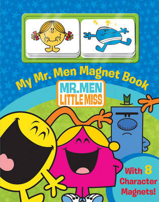 My Mr. Men Show Magnet Book by