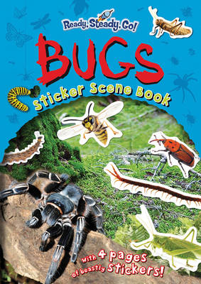 Bugs Sticker Scene Book by