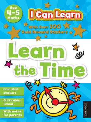 I Can Learn: Learn the Time Age 4-5 by