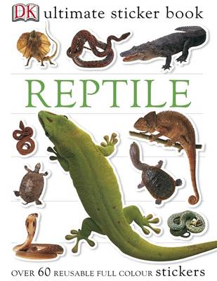 Reptile Ultimate Sticker Book by