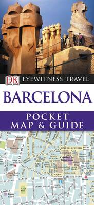 DK Eyewitness Pocket Map and Guide: Barcelona by