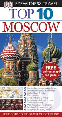 DK Eyewitness Top 10 Travel Guide: Moscow by
