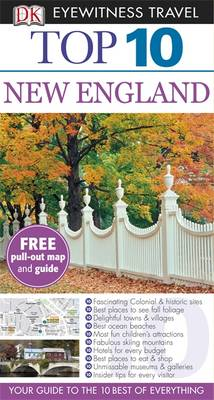 DK Eyewitness Top 10 Travel Guide: New England by