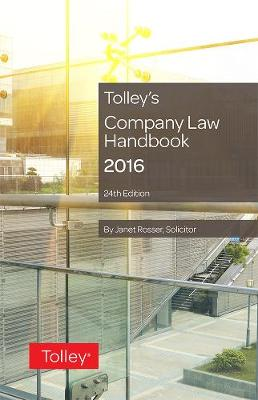 Tolley's Company Law Handbook by Janet Rosser