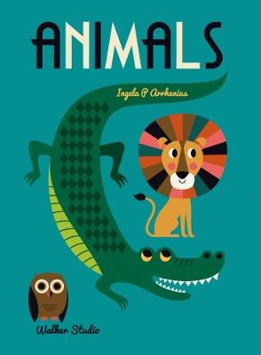 Cover for Animals A Stylish Big Picture Book for All Ages by Ingela Arrhenius
