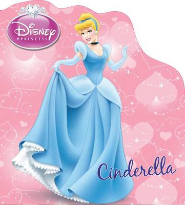 Disney Shaped Board Book Cinderella's Story by