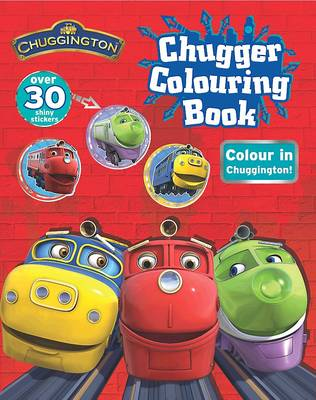 Chuggington Shiny Sticker Colouring by