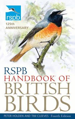 RSPB Handbook of British Birds by Peter Holden, Tim Cleeves
