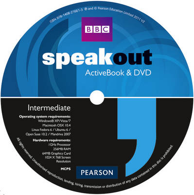Speakout Intermediate DVD/Active Book Multi-Rom for Pack by Antonia Clare, J. J. Wilson
