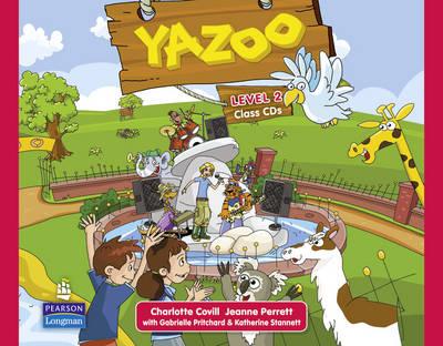 Yazoo Global Level 2 Class CDs by Charlotte Covill, Gabrielle Pritchard, Katherine Stannett, Jeanne Perrett