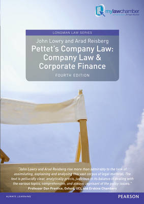 Pettet's Company Law Company Law and Corporate Finance by John Lowry, Arad Reisberg