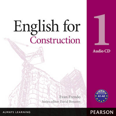 English for Construction Level 1 Audio CD by