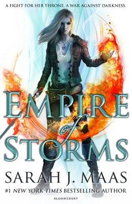 Cover for Empire of Storms by Sarah J. Maas