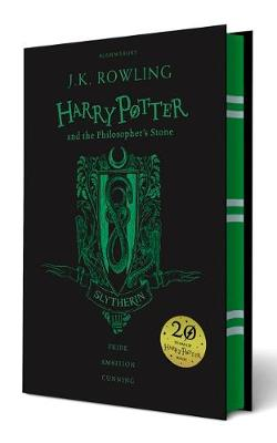 Cover for Harry Potter and the Philosopher's Stone - Slytherin Edition by J. K. Rowling