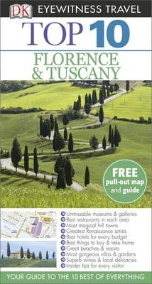 DK Eyewitness Top 10 Travel Guide: Florence & Tuscany by