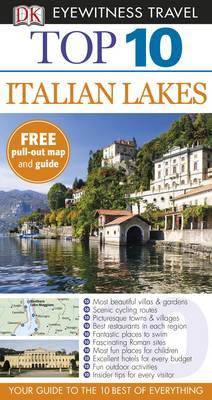 DK Eyewitness Top 10 Travel Guide: Italian Lakes by Lucy Ratcliffe, Helena Smith