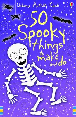 Spooky Things to Make and Do Activity Cards by