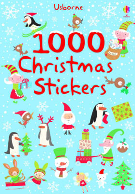 1000 Christmas Stickers by Fiona Watt