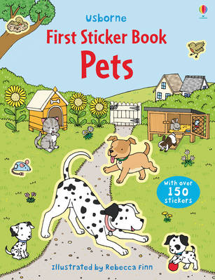 First Sticker Book Pets by