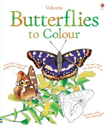 Butterflies Colouring Book by Megan Cullis