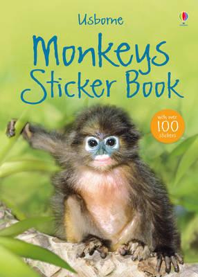 Monkey Sticker Book by Laura Howell