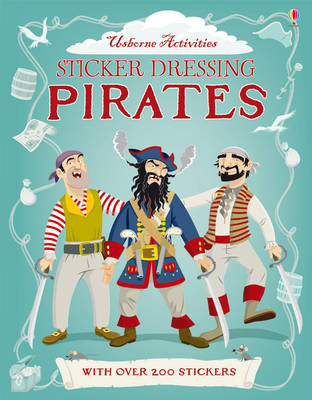 Sticker Dressing Pirates by Kate Davies, Louie Stowell