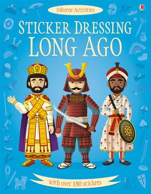 Sticker Dressing Long Ago by Megan Cullis