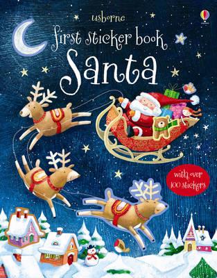 First Sticker Book: Santa by Sam Taplin