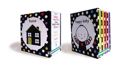 Babys Very First Black & White Little Library by