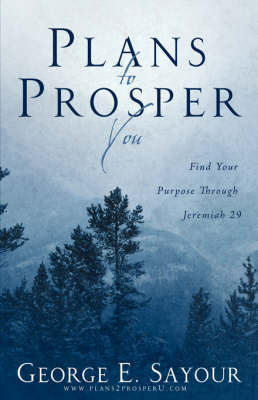 Plans To Prosper You by George, E Sayour