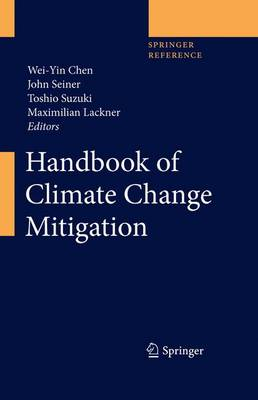 Handbook of Climate Change Mitigation by Wei-Yin Chen