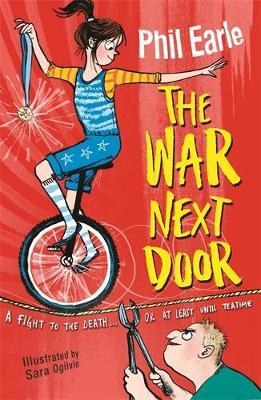 Cover for The War Next Door by Phil Earle