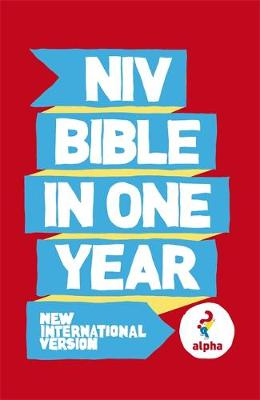 NIV Alpha Bible in One Year by New International Version