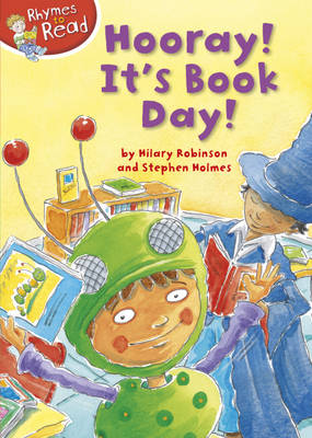 Hooray It's Book Day by Hilary Robinson