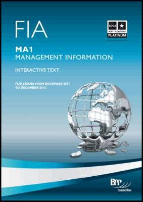 FIA - Management Information MA1 Study Text by BPP Learning Media